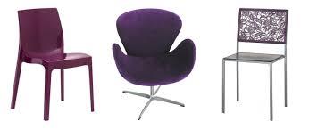 chaise violette chaise violette westwing ventes privées déco