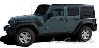 jeep wrangler graphics 2007 2017 jeep wrangler rundown to fender vinyl decal