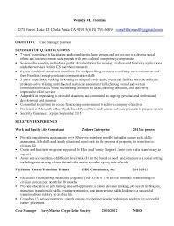 impressive case manager manager cover letter template