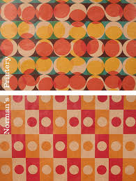 wrapping papers mid century modern wrapping paper 12 sheets