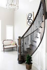 Diy Banister Diy Banister Ideas Staircase Traditional With Troy Lighting