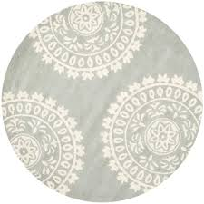 8 Foot Round Area Rugs by Magnificent 5 Ft Round Area Rugs Attractive 8 Feet X Mashad Gray