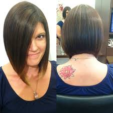 front and back views of chopped hair long bob haircut pictures front and back bob hair pinterest