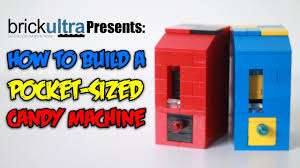 candy legos where to buy how to build a mini lego candy machine pocket sized