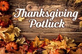 prairie lakes events thanksgiving potluck