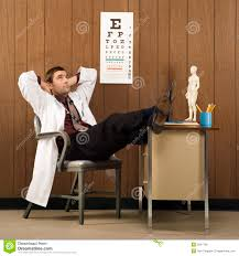 Feet On The Desk Male Doctor With Feet On Desk Stock Image Image 2047109