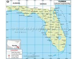 latitude map buy florida latitude and longitude map plants