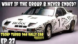 porsche 959 group b group b rally the dodge demon has nothing on this porsche 944