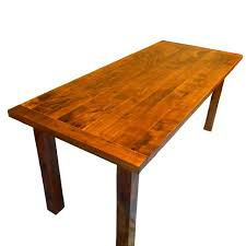 Custom Made Solid RusticModern Maple Dining Table By Black Swamp - Maple kitchen table