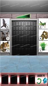 100 doors level 74 game solver