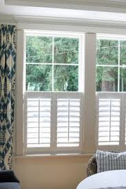 Shutters Vs Curtains Cafe Shutters With Roman Shades New House Ideas Pinterest