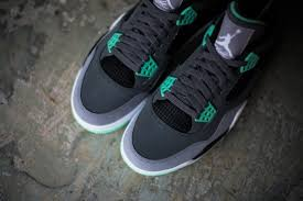 green glow 4 air 4 retro green glow release reminder sneakers addict