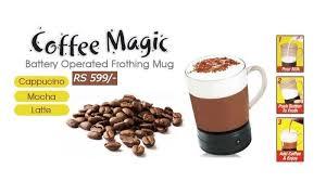 Coffee Magic coffee magic frothing mug make gourmet coffee in just rs 599 home