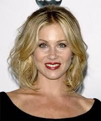 Christina Applegate Hairstyles   christina applegate medium wavy formal hairstyle
