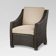 Patio Club Chair Belvedere Wicker Patio Club Chair Threshold Target