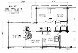 Floor Plans Under 1000 Square Feet Log Home Floor Plan 1000 To 2000 Square Feet Sq Ft