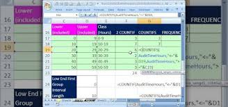 how to group quantitative data in microsoft excel microsoft