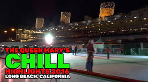 the queen mary u0027s chill highlights from the 2016 christmas event in