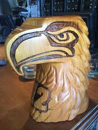 great wood carvings brewpublic on we found this great wood carving of the