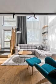 chic scandinavian loft interior idolza