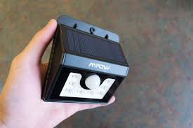 mpow solar light instructions mpow solar powered 8 led motion sensor light review the review expo