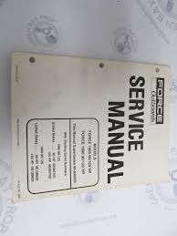 90 832749 mercury force outboard service manual 90 120 hp 1995 96