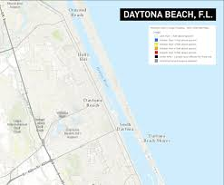 Daytona Florida Map by Storm Surge Maps Predict Widespread Flooding In Savannah And