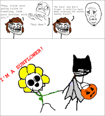 Trick Or Treat Meme - trick or treating rage memedroid