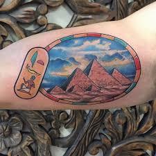 egyptian pyramid tattoo best tattoo ideas gallery