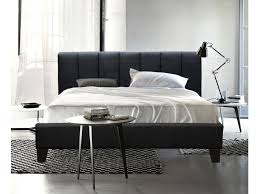 Leather Bed Frame Queen Black Leather Bed Frame Queen Frame Decorations