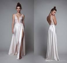 silk wedding dress berta bridal 2016 summer wedding dresses backless