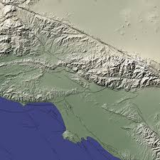 Earthquake Los Angeles Map by Chino Hills Earthquake Image Of The Day
