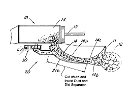 patent us8720329 dust removal attachment for a baler and method