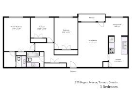 3 bedroom floor plan gallery heath residence 325 bogert ave