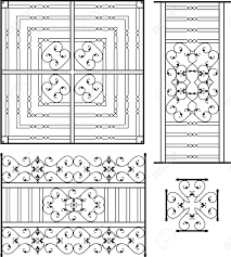 Door Grill Design Wrought Iron Grill Gate Door Fence Window Railing Design