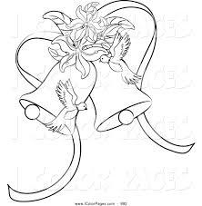 vector coloring page of a black and white coloring page outline of