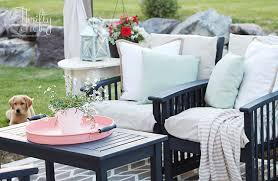 Patio Cushion Thrifty And Chic Diy Projects And Home Decor