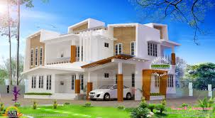 243 sq m modern contemporary house kerala home design and floor