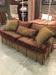 Rust Sofa Carol Bolton Sofa Invio Fine Furniture Consignment