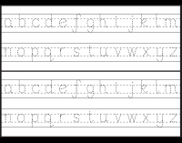 tracing u2013 letter tracing free printable worksheets