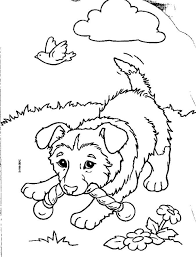 puppy coloring pages 2 coloring pages kids