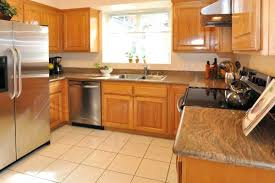kitchens with oak cabinets and white appliances granite countertops and cabinets honey oak cabinets and granite