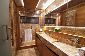 bathroom artistic brown modern rustic bathroom decor ideas