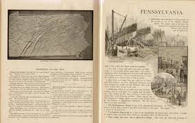 United States Map To Fill In by Pennsylvania In Old Geography Books 1900 1950