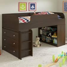 Bunk Bed With Steps Cherry Bunk U0026 Loft Beds You U0027ll Love Wayfair