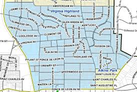 City Of Atlanta Zoning Map by Government And Utilities Virginia Highland Civic Association