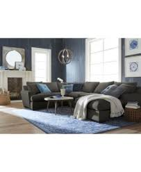 3 Piece Sectional Sofa With Chaise ainsley 3 piece sectional with chaise armless loveseat u0026 6 toss