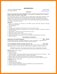 Government Contractor Resume 4 Resume Career Summary Resume Sections