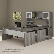 medina series straight front executive u shaped desk suite 40