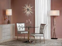 silver color decoration at home